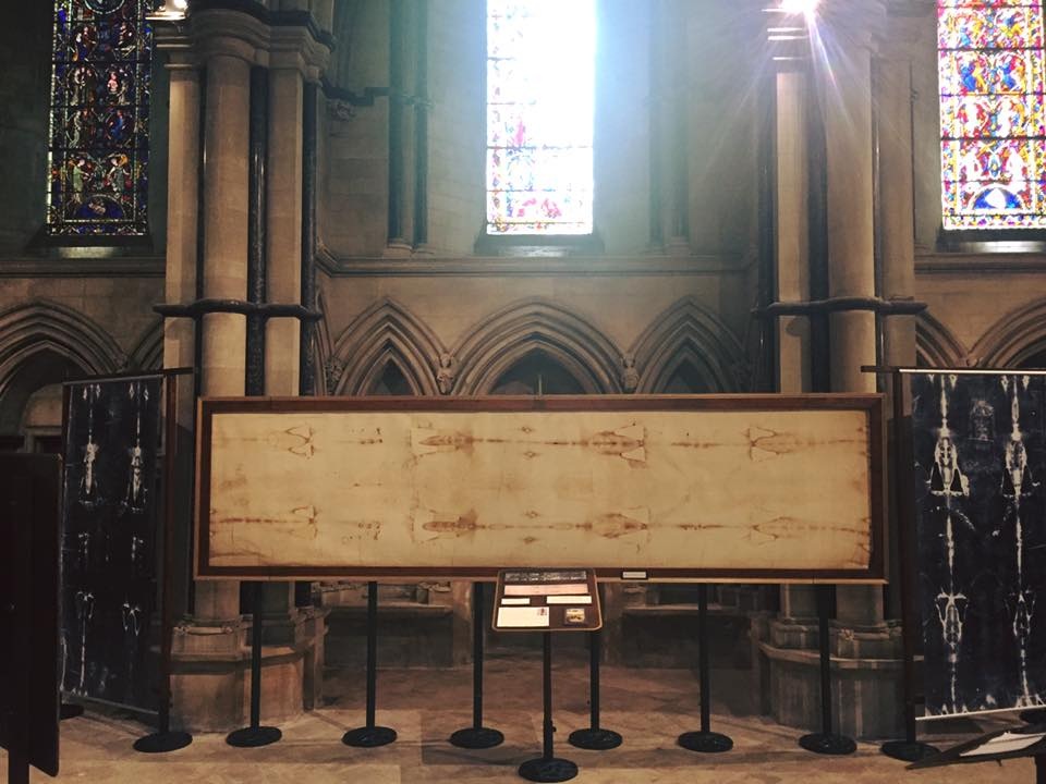 Shroud of Turin exhibition Cathedral of St John <a href=