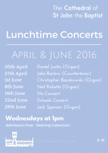 Lunchtime Concerts - <a href=