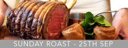 Sunday Lunch Roast in Norwich