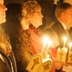 Easter vigil turns cathedral from darkness into light