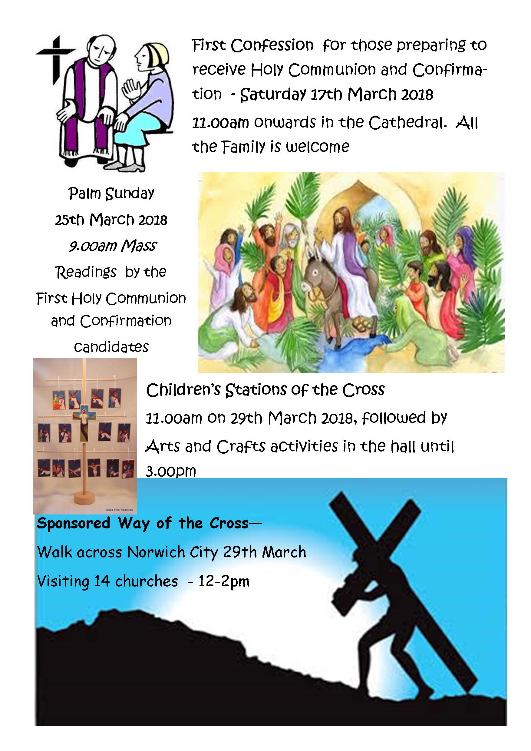 Holy Week 2018 – Family activities – The Cathedral of St
