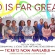 ANCOP Charity Concert – GOD IS FAR GREATER – 21st July 2018 5-11pm