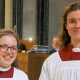 Singing success for Cathedral choir duo
